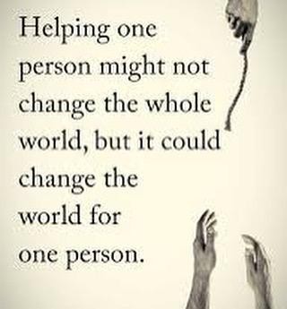 #inspired2impact #bethechange #dosmallthingswithgreatlove