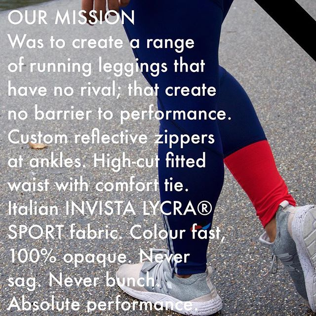 The Technical Legging by MYSPORTLONDON is our best seller. It is cut with several amazing design features to help the way that the garment wears and feels and features all sorts of mean design considerations including a hidden back zippered pocket and reflective detailing for night runs. . The fabric that we use to make these leggings is a special Invista Lycra® from an incredible Italian mill. As well as being the highest performance, suck-it-in and hold-it-steady lycra that we could possibly find, it also happens to be made from recycled fishing nets. . Sustainability and cause are SO important to MSL. HOWEVER!!! We DON'T feel that there is a great deal of need to constantly bleat on about it. You can read all about our mission and sustainability on our blog and website if you are game for a treasure hunt, but rather than being something that we use as a sales technique, it's just who we are. . #sportswear #runningleggings #gymgear #runningaddict #myfitlife  #mysportlondon #sport #fitlife #Manufacturing #fashionprodcution #garmentmanufacture #madeintheUK #fashion #garmenttechnology #sportswearmanufacture #knowyourself #knowus