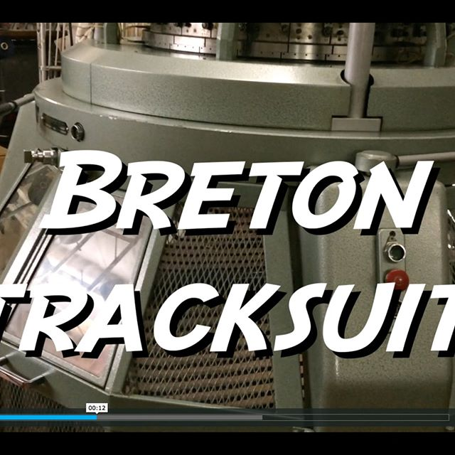 C O M I N G  S O O N • A video of the 100% cotton heavyweight knit used to make our UK manufactured Breton Tracksuit.  Learn what goes on in a factory that brings our UK made products to your door... We released these during our Pop-Up at the Hackney shop two weeks ago! Available now online.  #knowyourself #mysportlondon #sport #fitlife #sportswear #madeintheuk #breton #bretonstripes #streetwear