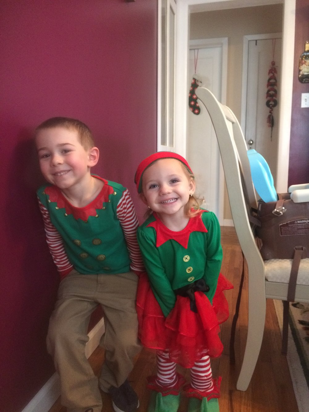 Elves in the house!