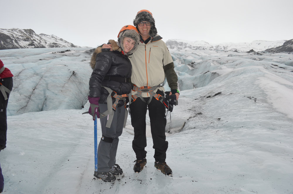 Glacier Climbing , Iceland