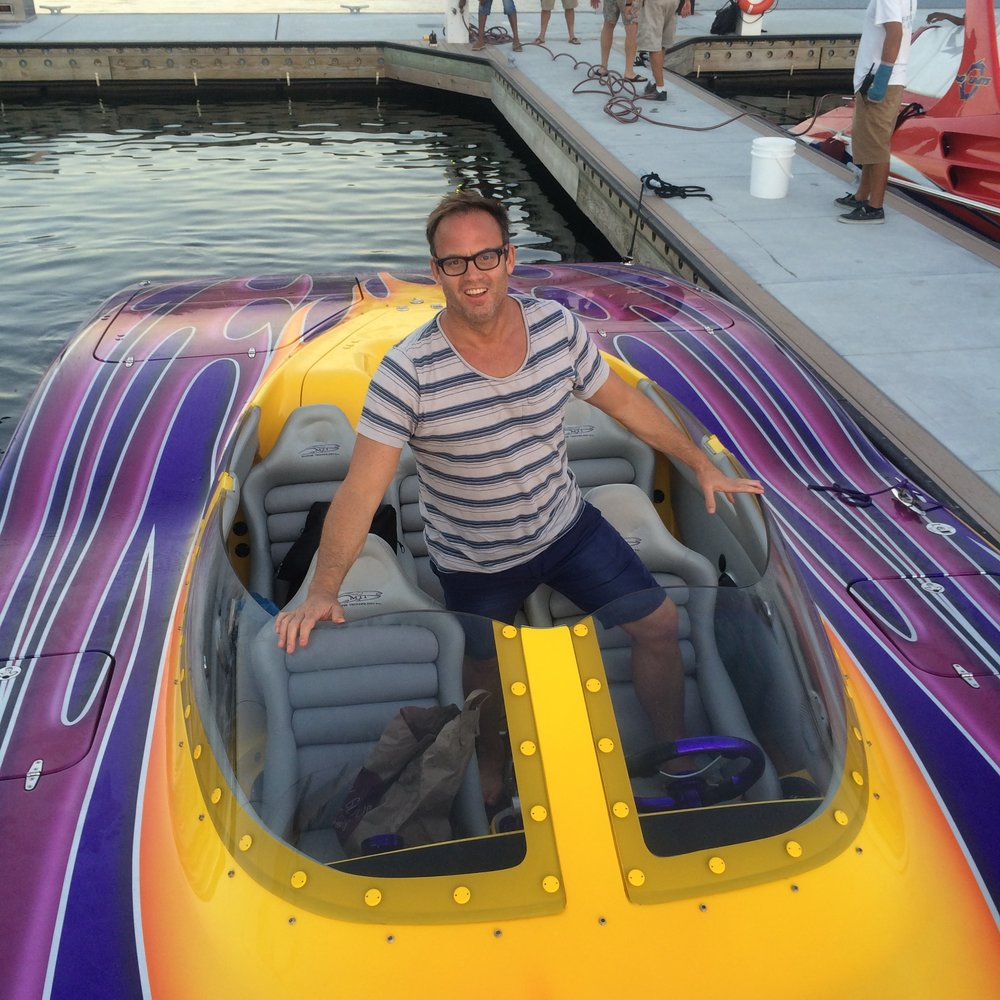 Boat racing in Key West