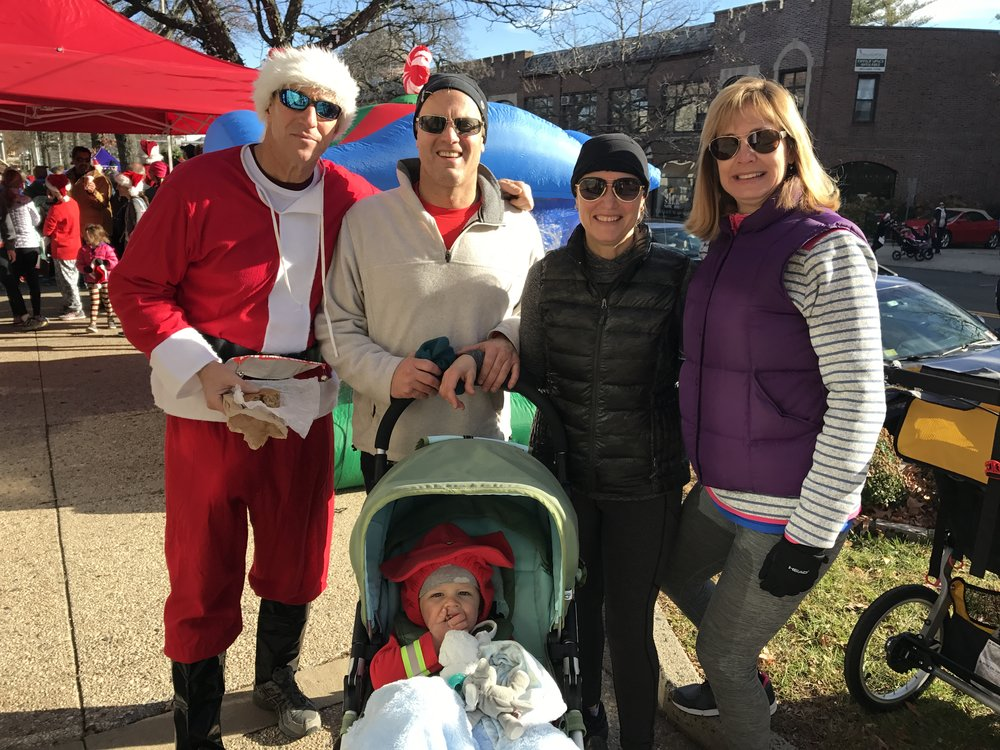 Jingle Bell Run with friends