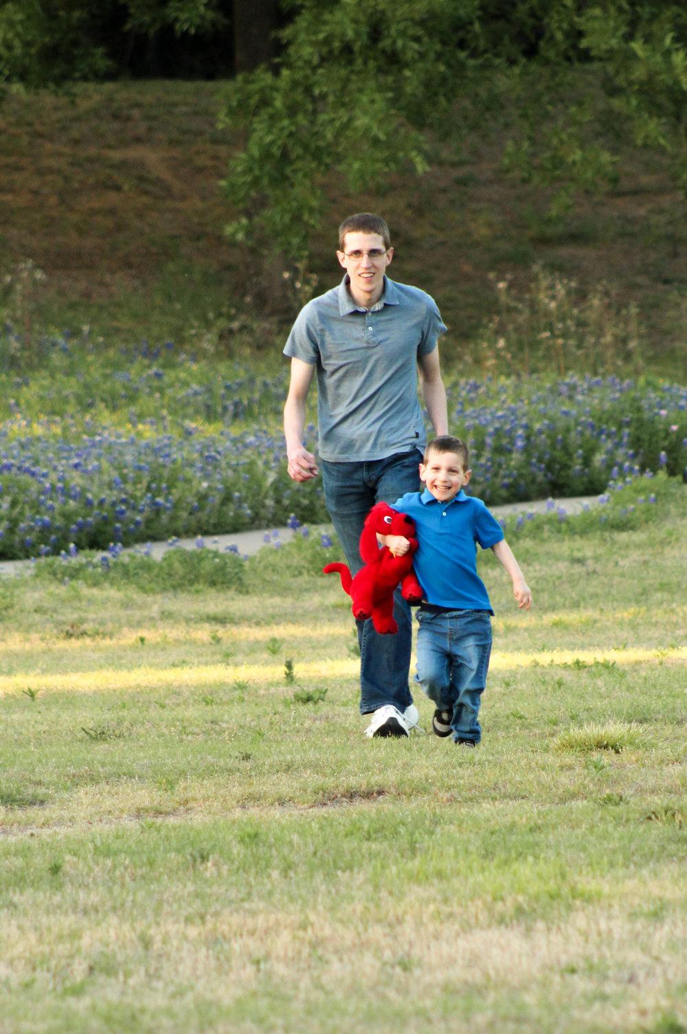 Running to Mom