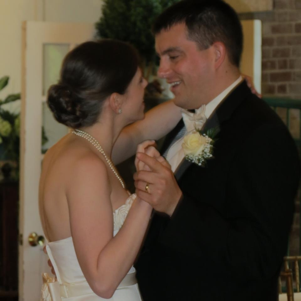 Our wedding – six years ago!