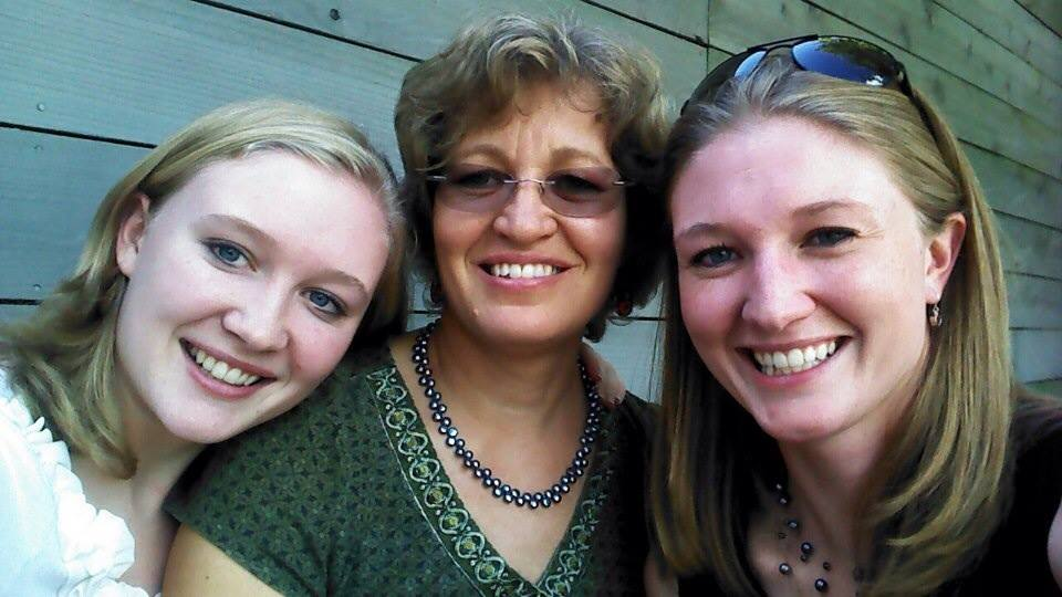 Good times with mom and sister