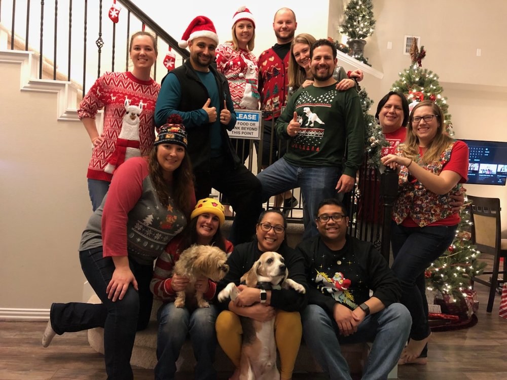 Ugly Sweater Party!