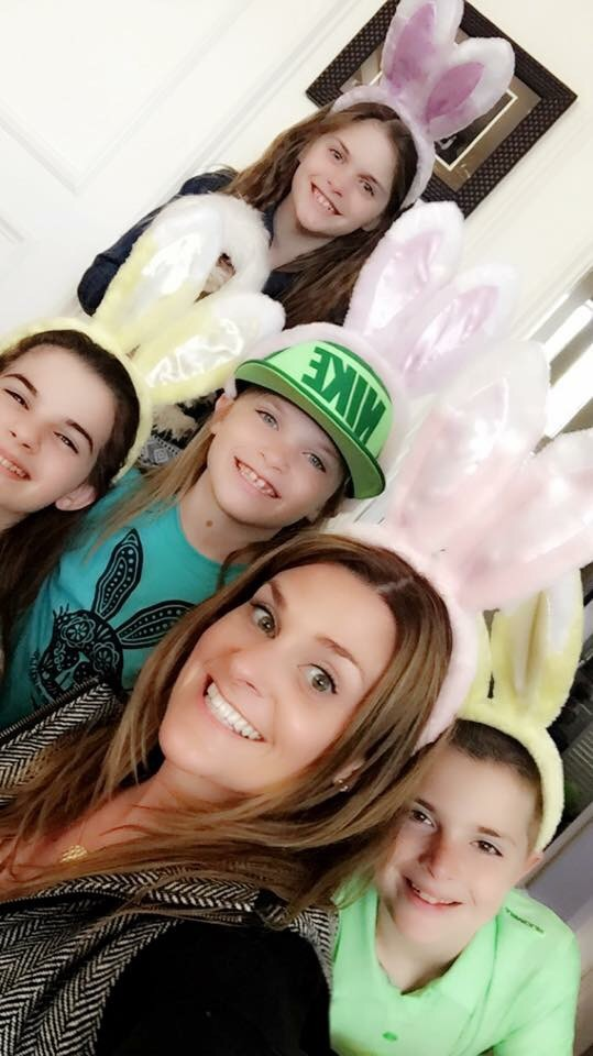 A little Easter day fun before the Egg hunt