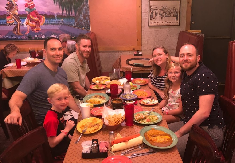 We love visiting Houston once a year to spend time with Tyler's family (but especially for the Tex Mex food you can't get anywhere else!!)
