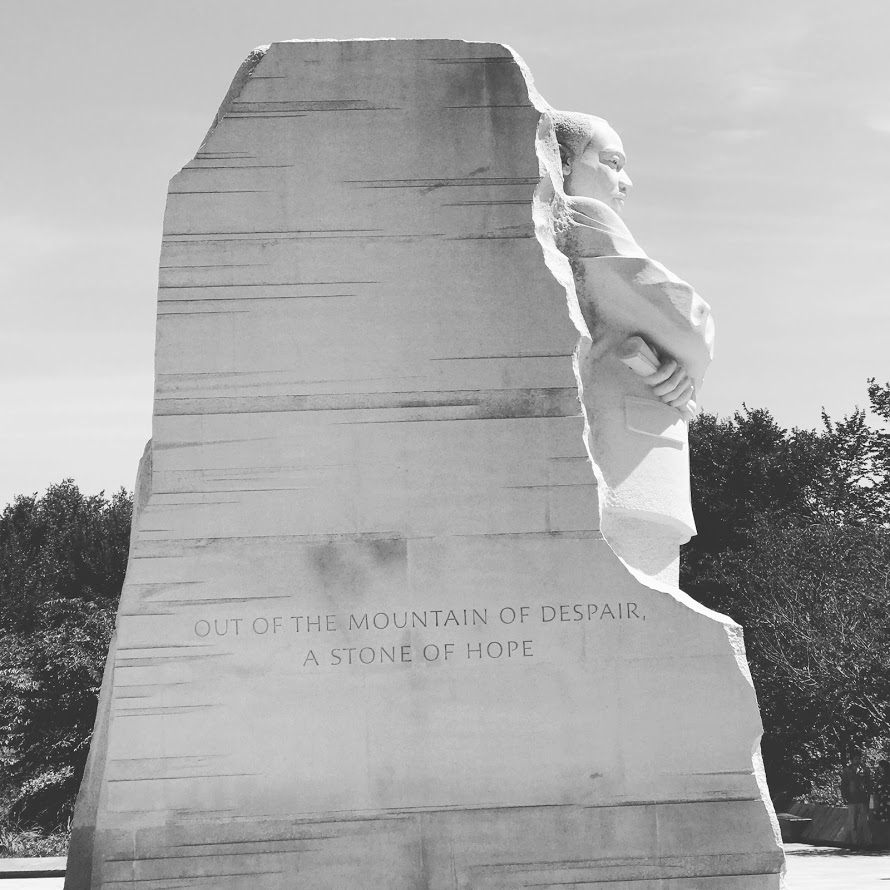 Washington, DC is full of monuments. We are especially inspired by the life and vision of Martin Luther King, Jr.
