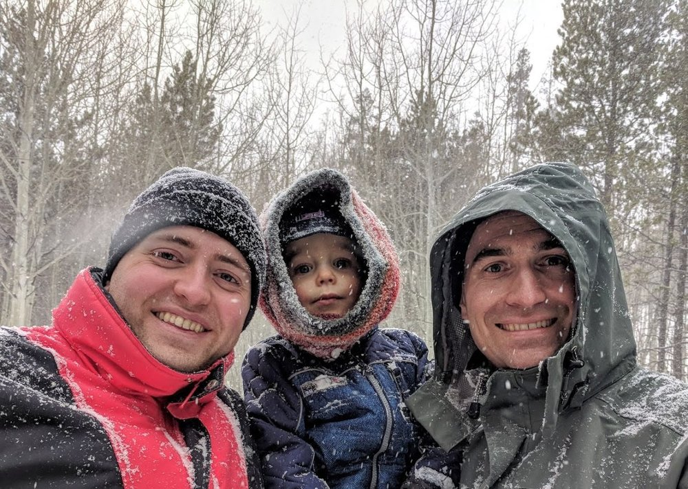 Winters in Colorado are so fun. We love having a white Christmas almost every year and enjoying with our nephew, Simon