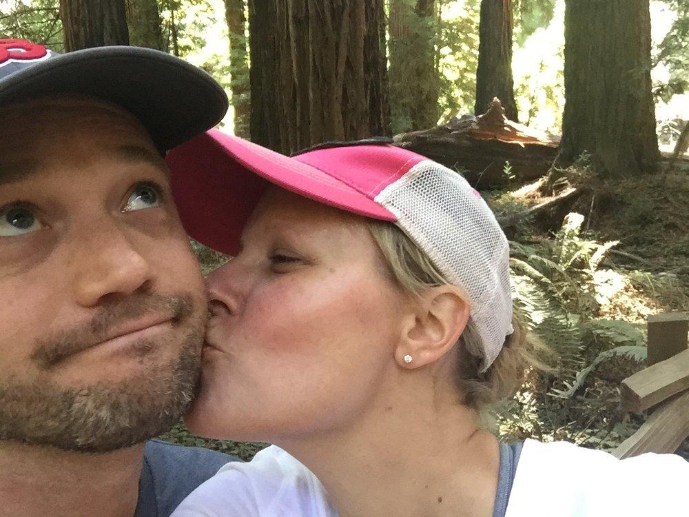 We love hiking