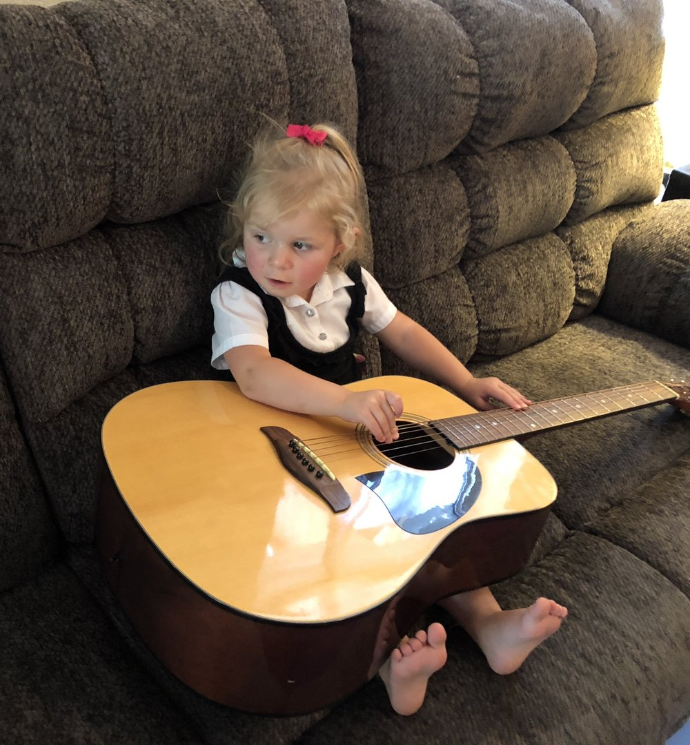 Musician in the Making