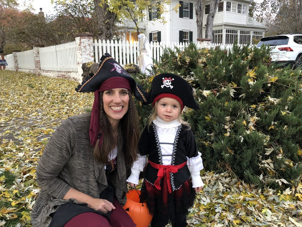 Pirates for Halloween