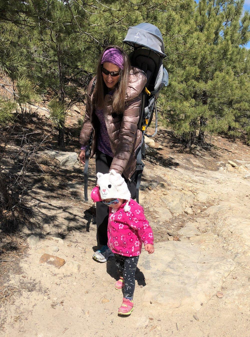 We love to hike