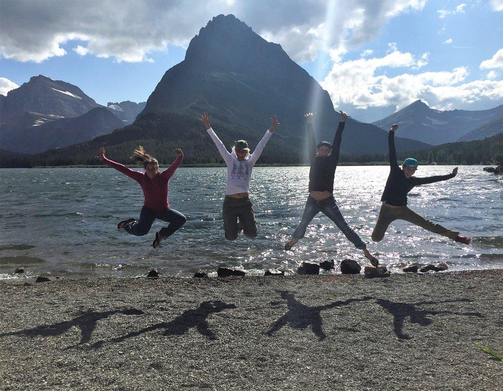 Glacier National Park with Friends