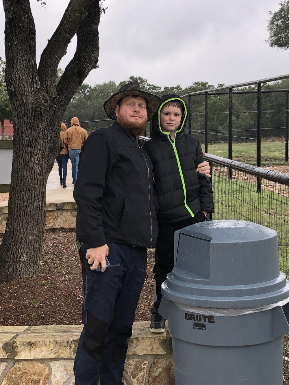 David with his Nephew Cody