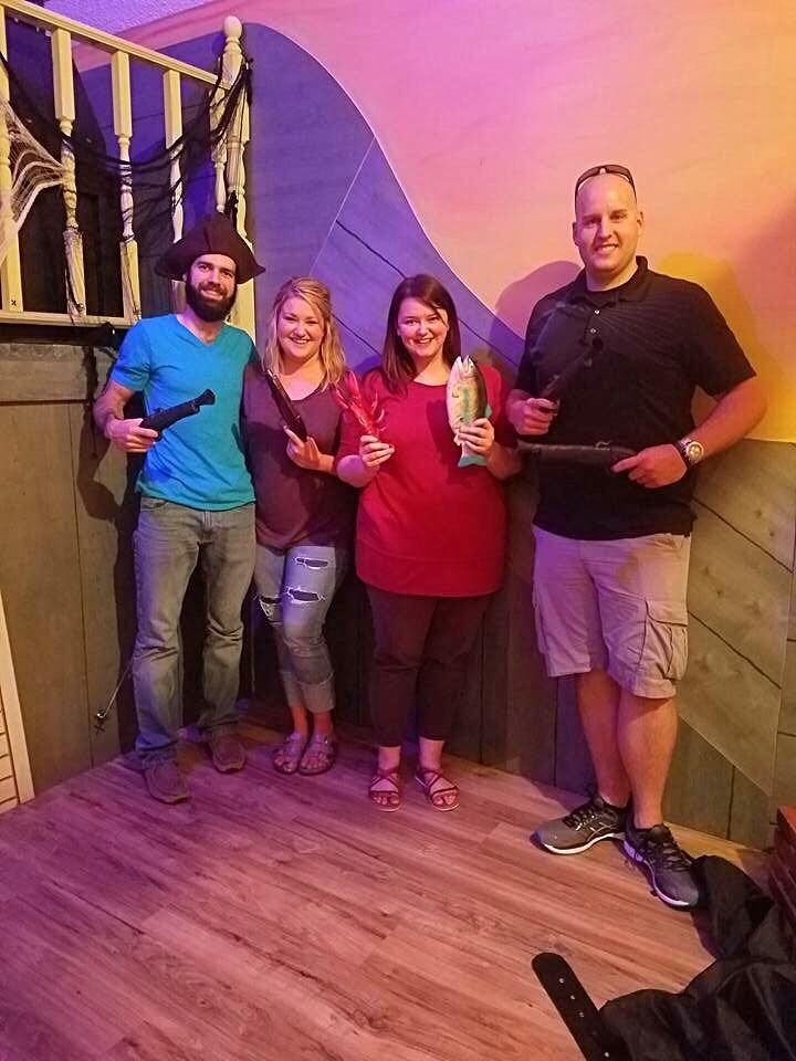 We love having fun with friends! This was an escape room for Austin's birthday one year!
