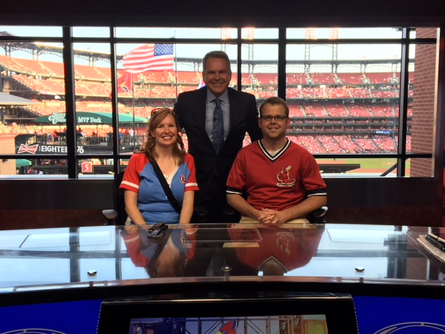 A Fox Sports Midwest Studio Visit at the Cardinal game!