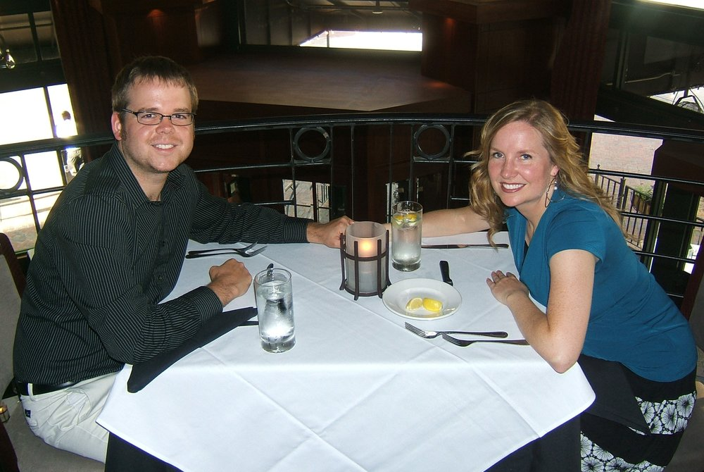 We love going on dinner dates and trying new places!