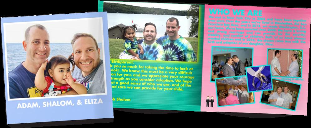 Vanessa and Ron's adoption profile