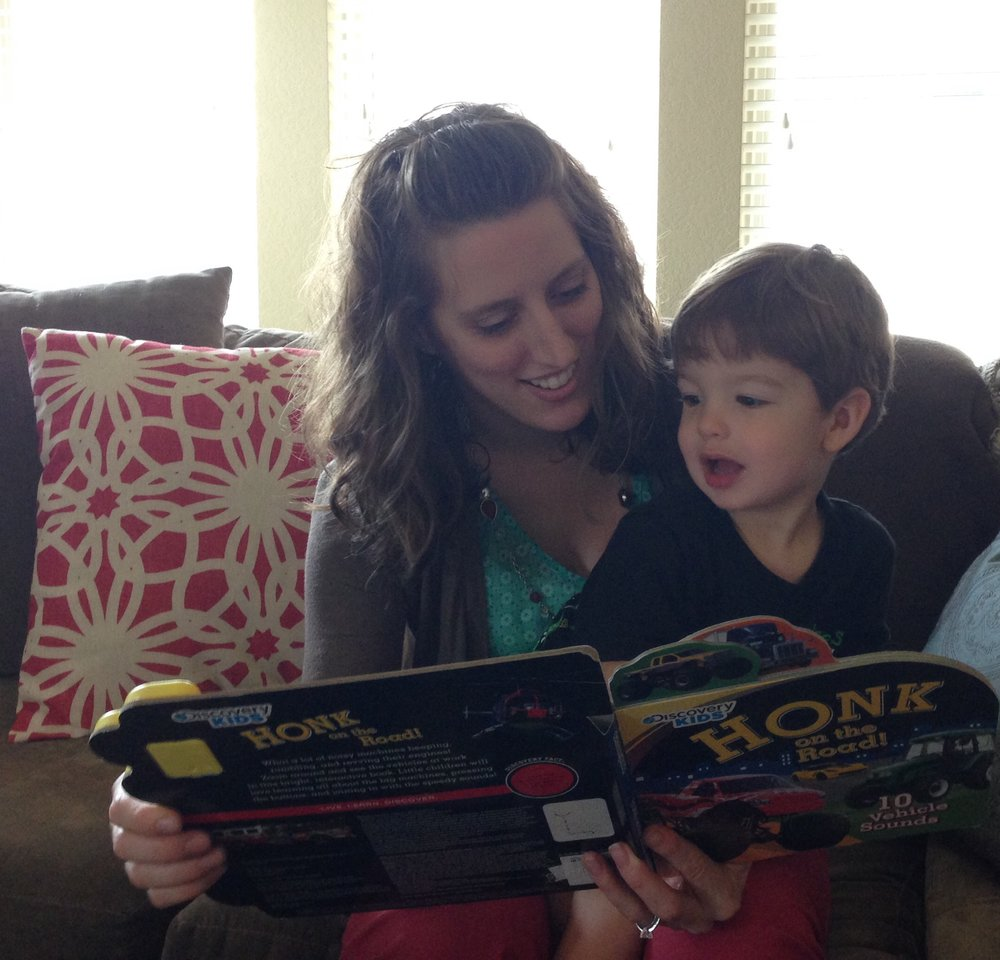 We both love reading to all the kids in our life