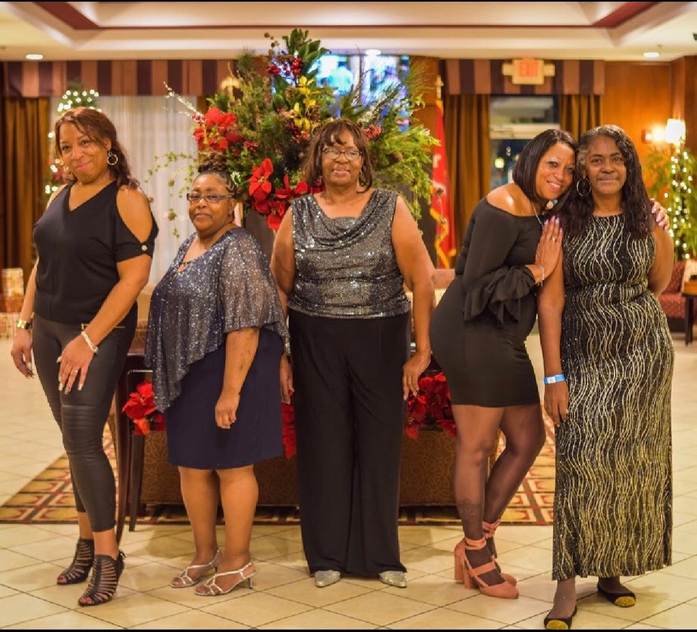 The founders of   Class Act Destinations & Planning (Lola, Lorri, Helen, Beverly, Teresa)