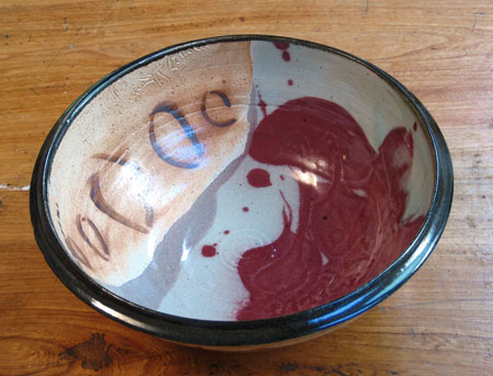 Copper Red and Shino Bowl.jpg
