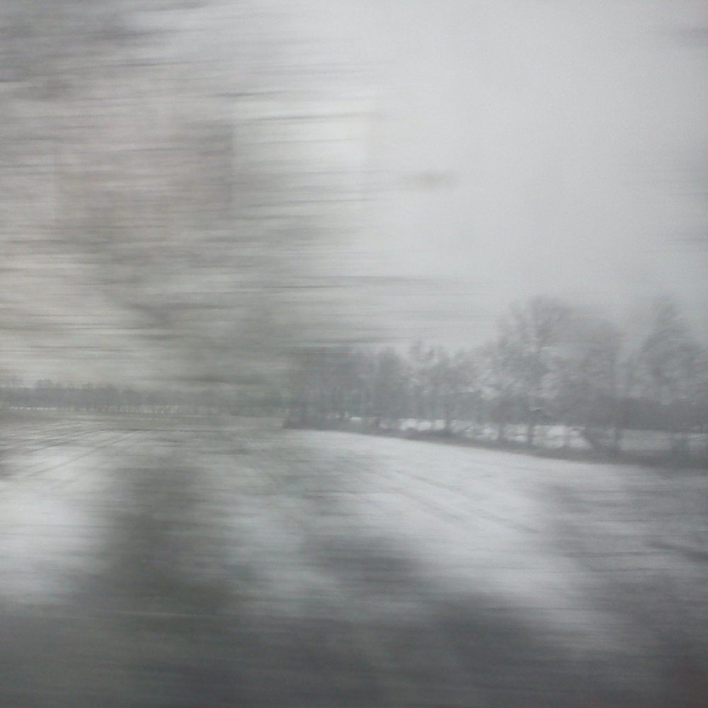 Original photo taken out of the train window