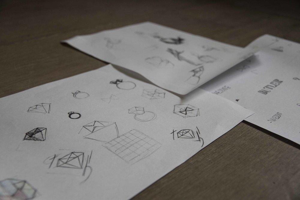 LOGO ONTWERP - opdracht tekenen en handvaardigheid