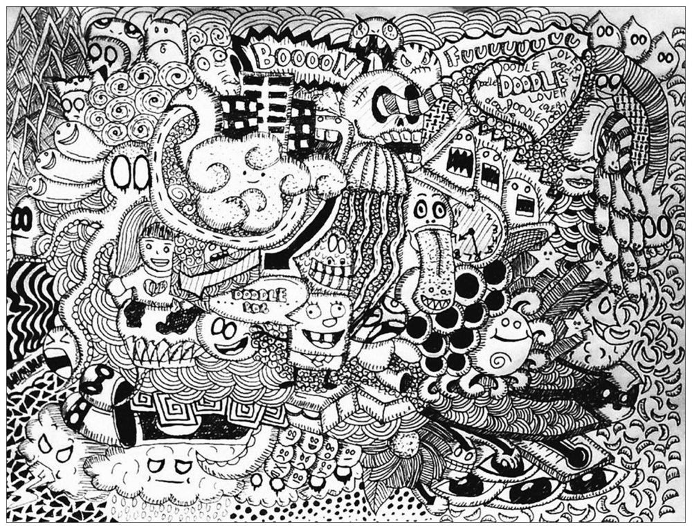 Doodle van Bon Janapin