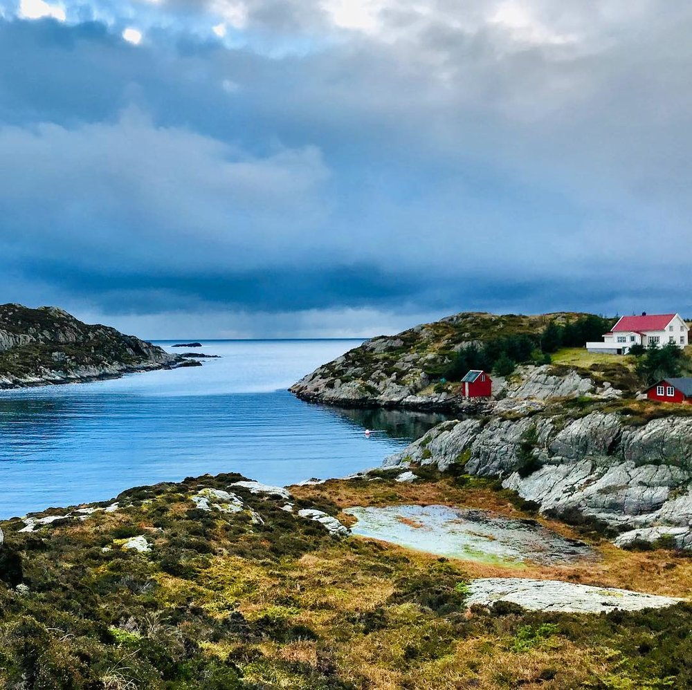 Think fresh salty air, wind blowing in your face and the sound of seagulls in your ears.  photo by  Lars Persen