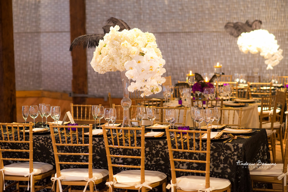 White Wedding Centerpiece with feathers (2).jpg