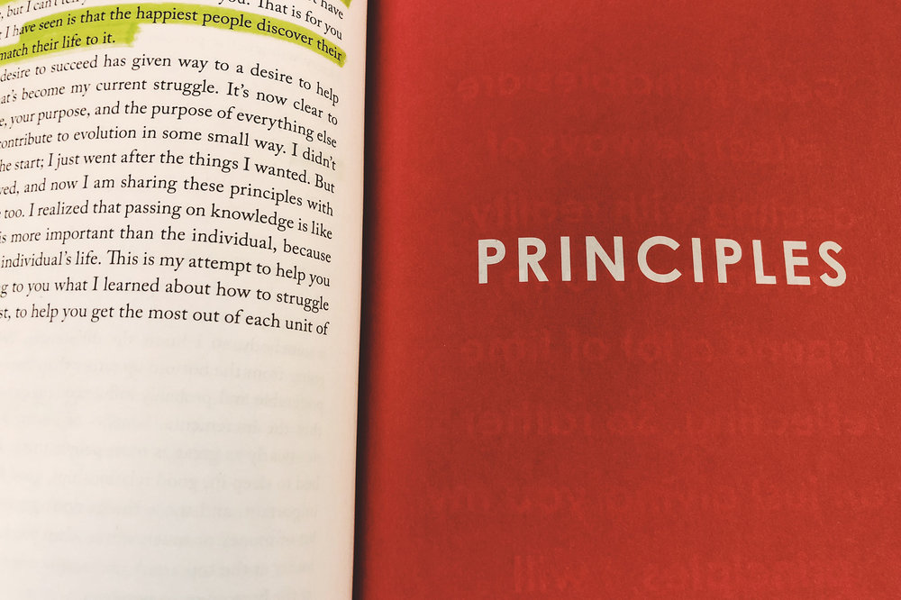 Currently reading: Ray Dalio's magnum opus.