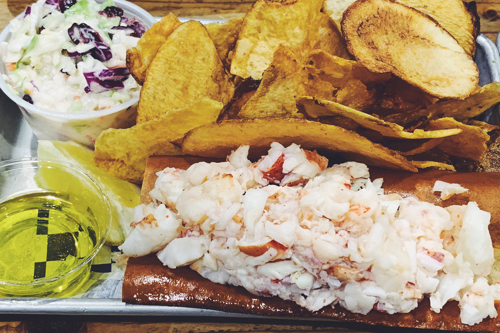 Lots of Lobstah makes me happy.