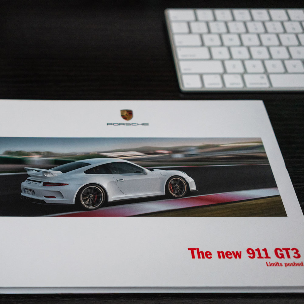 My 991.1 GT3 must-haves - STORY | 02/17/2019