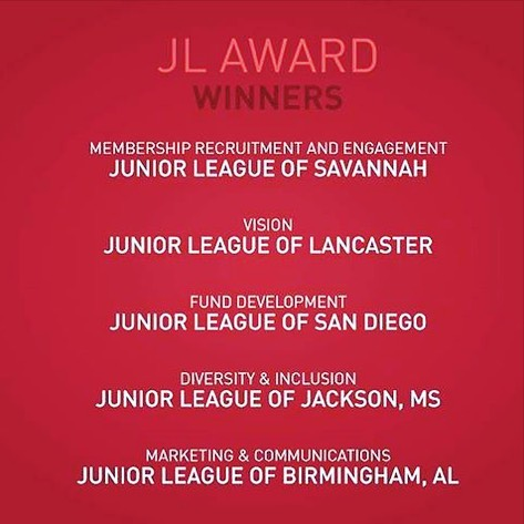 Proud to have played a small role in @jlbirmingham winning the 2018 AJLI Marketing and Communications award.  #jlbirmingham #juniorleagueofbirmingham #juniorleague #jlac18 #protagonistdigital