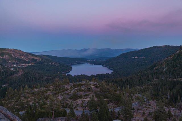 Donner Lake  #donnerlake #california #cold