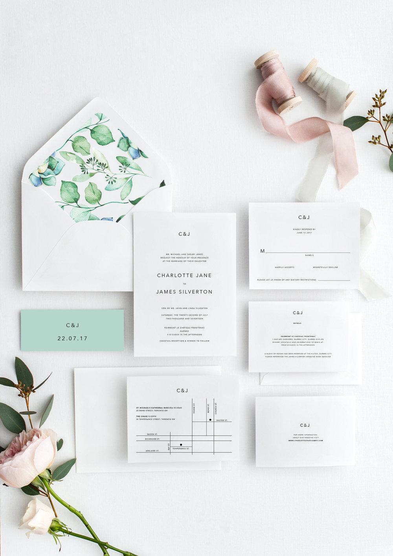 Charlotte and James minimalist wedding invitations.jpg