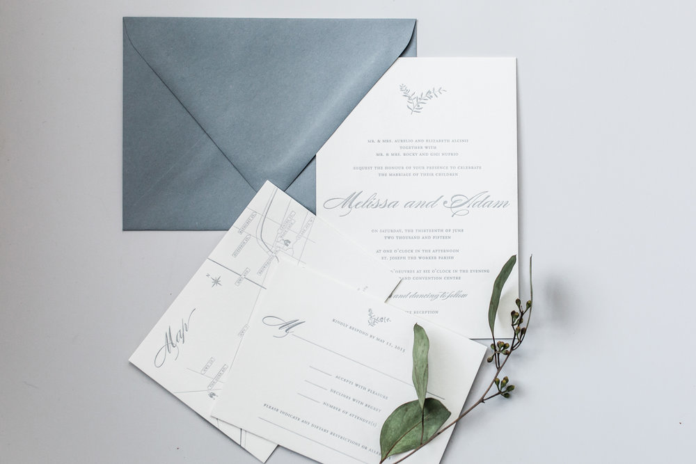 Free Wedding Invitation Wording Guide – traditional letterpress invitations