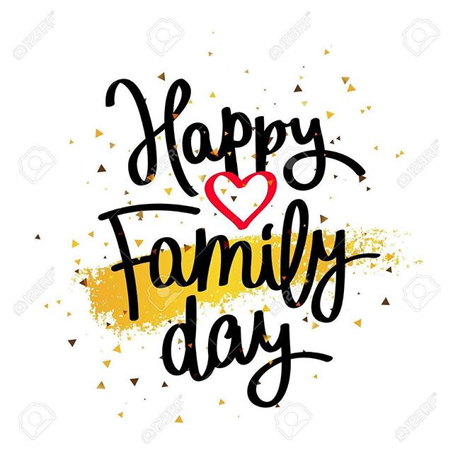 Happy Family Day...from our family to yours!