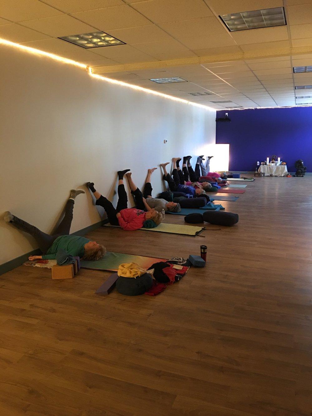 10:30am Yin Yoga 12/10/16