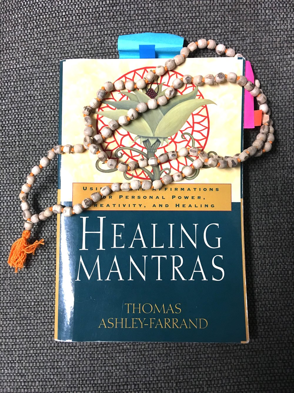 Healing Mantras is available in our studio boutique.