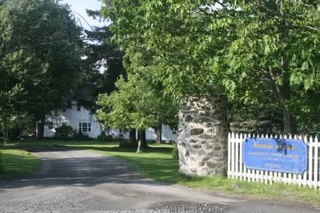 The ashram entrance.
