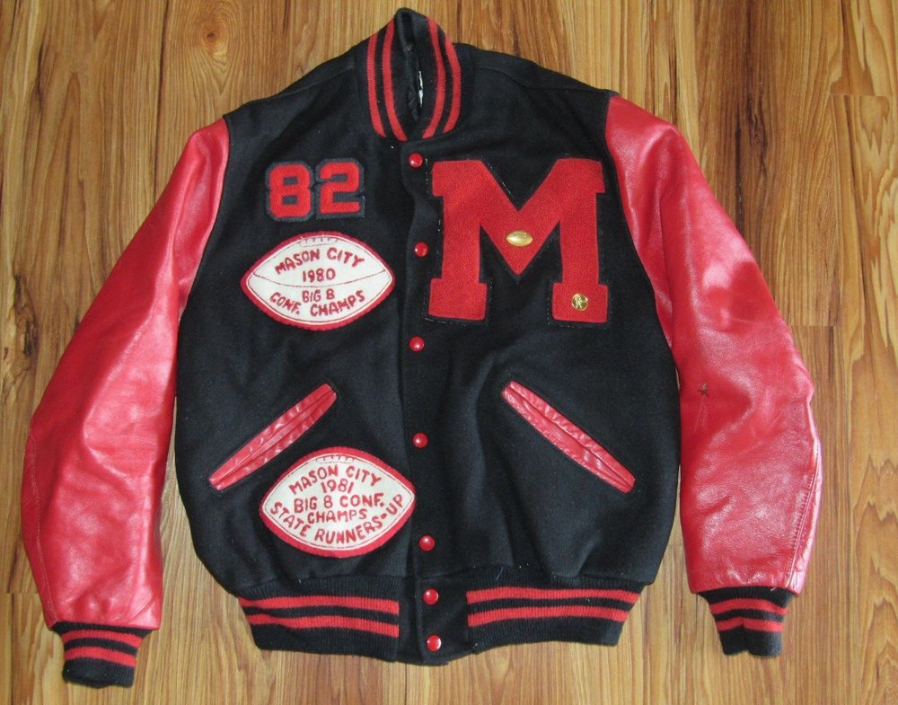 Not my letter jacket, but an impressive one nonetheless.