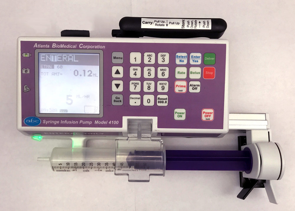 Model 4100 in Enteral Purple -