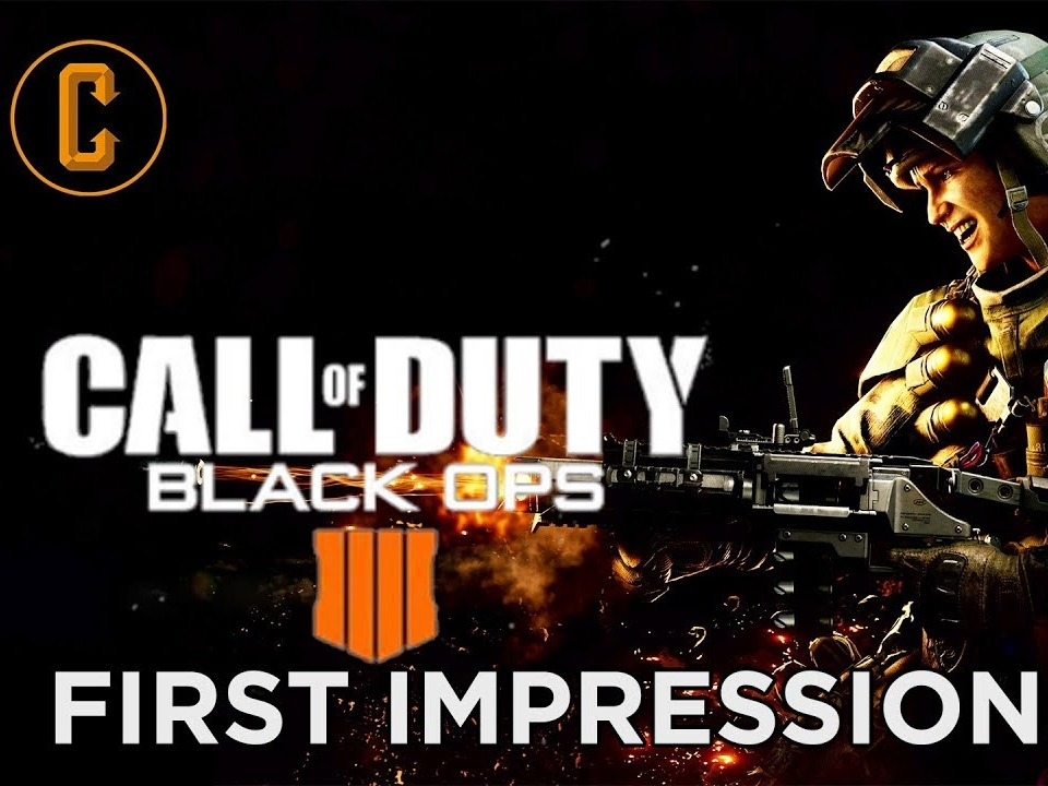 Call of Duty Black Ops 4 Impressions -