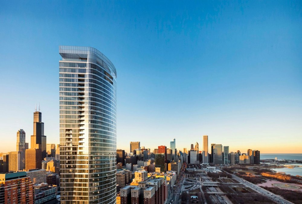 Chicago Mag:  Condo Sales now underway for Jahn-designed 1000M Tower