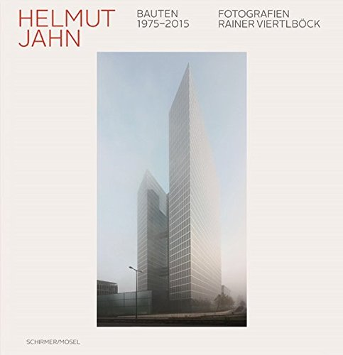 HELMUT JAHN: Buildings 1975-2015    Helmut Jahn has been leaving his eyecatching and distinctive mark on the world's metro - polises since the 70s: from Chicago to Singapore and Shanghai, from Frankfurt, Munich, and Berlin to Las Vegas and Tokyo, his towers of glass and steel rise spectacularly into the sky, dominating the townscape and the skyline of the cities in which they stand. Multi-award winning photographer Rainer Viertlböck captures Helmut Jahn's buildings with breathtaking precision and suggestive power  2015