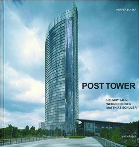 POST TOWER   The aerodynamically designed highrise building which houses the offices of the Deutsche Post is a remarkable example of the collaboration between Helmut Jahn, Werner Sobek and Matthias Schuler. This innovative design has been honoured by the Urban Land Institute. This book portrays this structure in stunning duotone photographs, short texts and plans.  2003